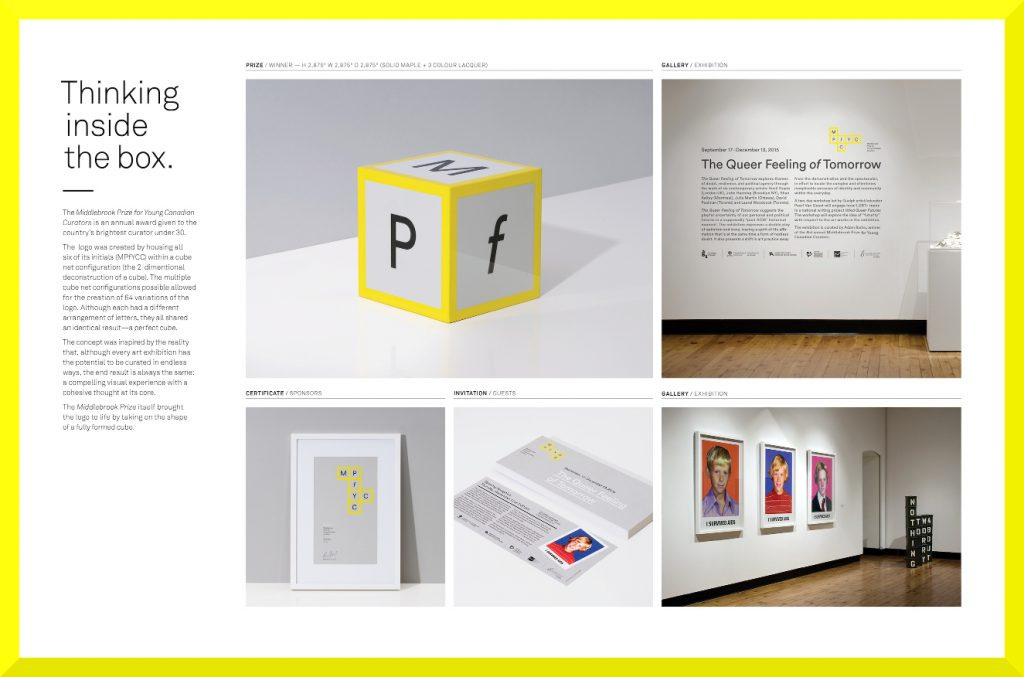 Middlebrook Prize Visual Identity is a Winner