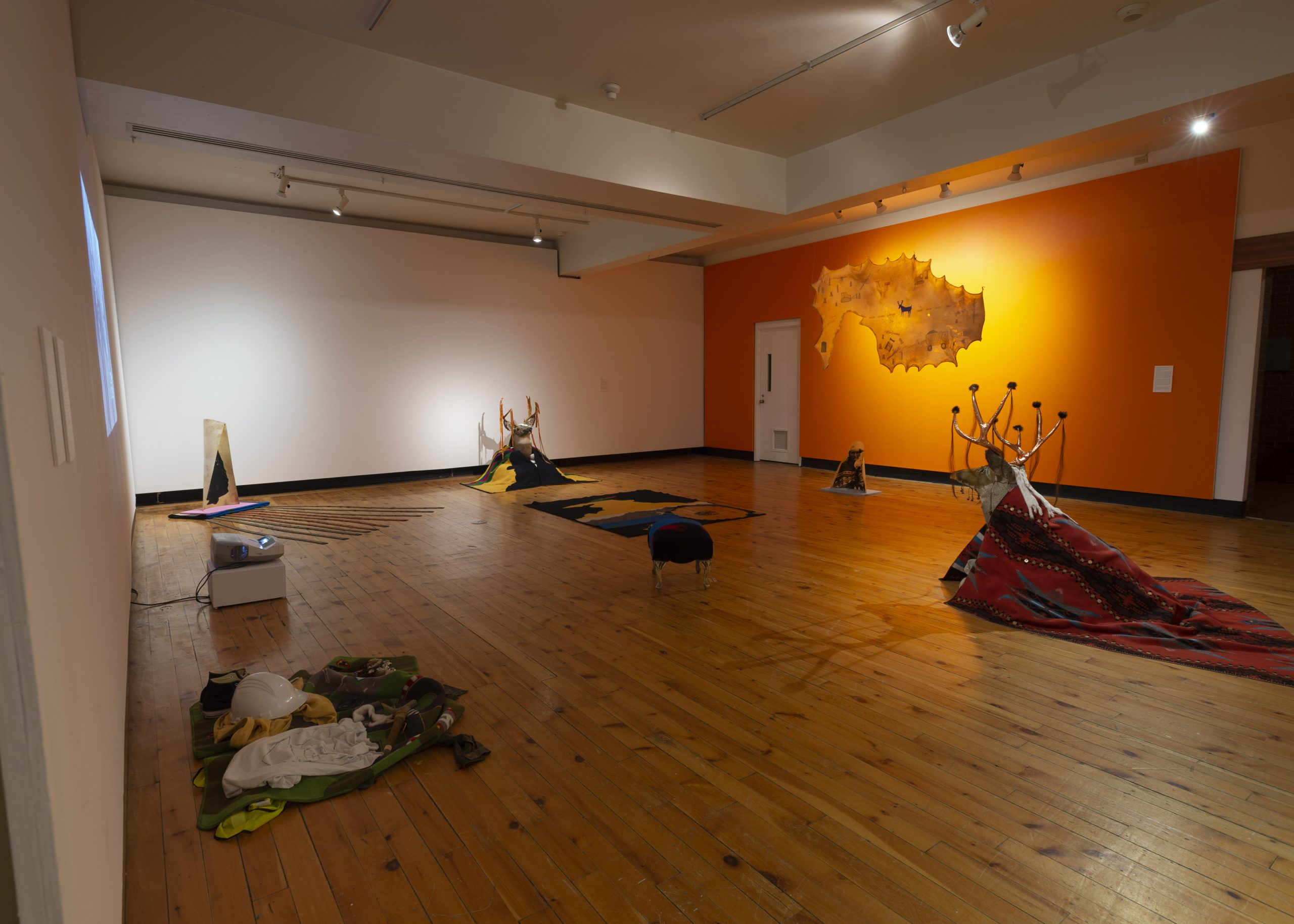 Installation views of Tina Guyani | Deer Road